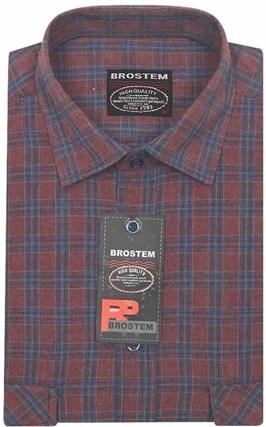 Большая фланелевая рубашка BROSTEM KA2470Ag - фото 8649
