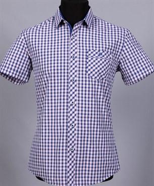 100% хлопок сорочка приталенная VESTER 10814Е-03 - фото 8672
