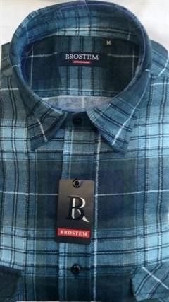 Фланелевая рубашка BROSTEM FBB3 - фото 9088
