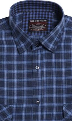 Большая фланелевая рубашка BROSTEM 8LG49+3g - фото 9090