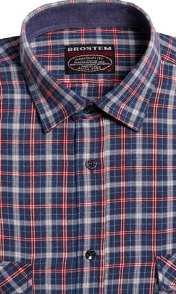 Большая фланелевая рубашка BROSTEM 8LG42+2g (KA15010g) - фото 9091