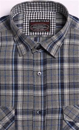 Большая фланелевая рубашка BROSTEM 8LBR49+1g - фото 9099