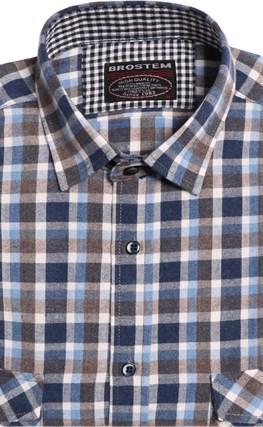 Большая фланелевая рубашка BROSTEM 8LG49+2g - фото 9100