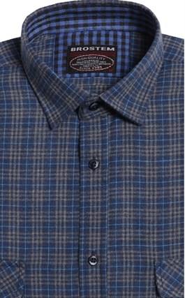 Большая фланелевая рубашка BROSTEM 8LG49+4g - фото 9102