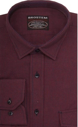 Фланелевая рубашка р.M шерсть/хлопок Brostem 8LBR52+1 - фото 9122