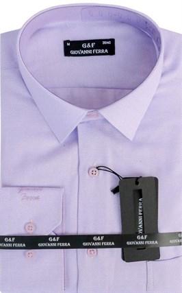 Мужская сорочка полуприталенная 6046-6 - фото 9362