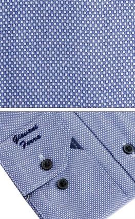 Мужская сорочка полуприталенная 6088-33 - фото 9369