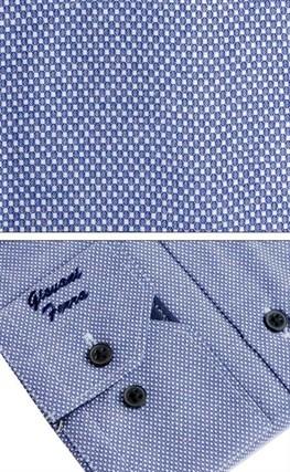 Мужская сорочка полуприталенная 6088-33 - фото 9421