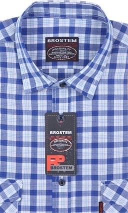 100% хлопок рубашка большая SH841sg Brostem - фото 9624