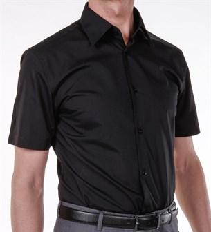 Сорочка приталенная ELITA 70512-01 черная - фото 9725