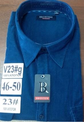 Вельветовая мужская рубашка Brostem V23g Z - фото 9806