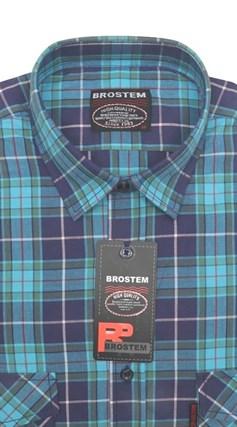 Большая рубашка мужская SH671-3g (SH-660-1g) - фото 9809