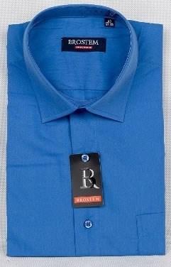 Офисная мужская рубашка большого размера CVC41g  BROSTEM - фото 9816
