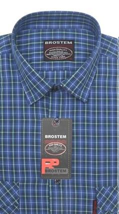 100% хлопок большая рубашка SH657-2g BROSTEM - фото 9859