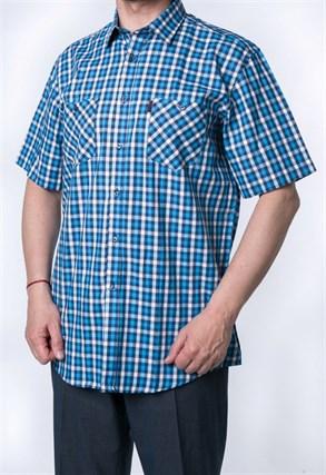 Рубашка мужская хлопок SH665-1s H Brostem - фото 9992