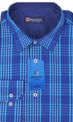 Мужская рубашка большого размера BROSTEM K6-273-G