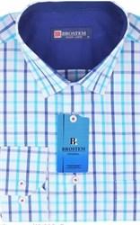 Большая мужская рубашка BROSTEM K6-306g