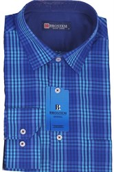 Мужская рубашка полуприталенная BROSTEM K6-263