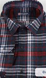 Фланелевая рубашка 100% хлопок BROSTEM F11317-1(F-211)(F1821567-3)