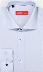 Рубашка мужская NON-IRON приталенная VESTER 14416-01-19