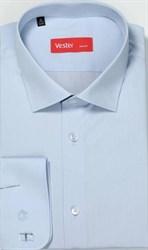 Рубашка мужская р.43 VESTER 70714-03-19 приталенная
