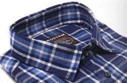 Большая фланелевая рубашка BROSTEM KA5062g