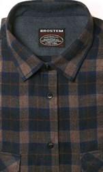Фланелевая рубашка хлопок/шерсть BROSTEM KA4