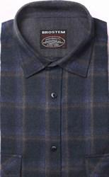 Фланелевая рубашка хлопок/шерсть BROSTEM KA7