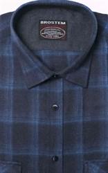 Фланелевая рубашка хлопок/шерсть BROSTEM KA6