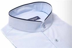 Полуприталенная со стойкой рубашка BROSTEM 9LBR87+1*