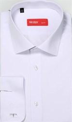 Белая рубашка VESTER 70714-01-19 приталенная