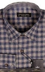 Фланелевая рубашка шерсть/хлопок AY 320-1