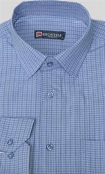 Прямая рубашка мужская Brostem 9LBR51-11