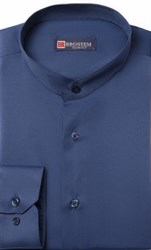 Приталенная со стойкой рубашка BROSTEM 8LBR86+5