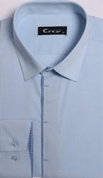 Приталенная рубашка стрейч CITY RACE 8LCR25-2