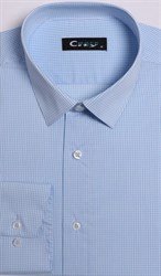 Приталенная рубашка стрейч CITY RACE 8LCR41-2
