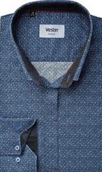 Рубашка с эластаном приталенная VESTER 22018-02sp-20