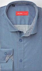 Рубашка навыпуск стрейч VESTER 21718-10sp-20