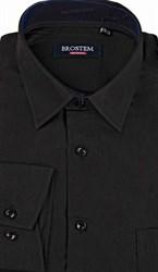 Большая черная рубашка CVC1g  BROSTEM