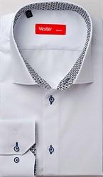 Рубашка белая VESTER 13914-54sp-20