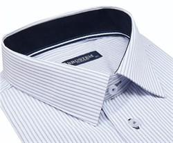 Большая мужская рубашка с коротким рукавом 1SG60-3sg