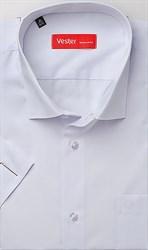 Рубашка прямая белая VESTER 70214-55sp-20