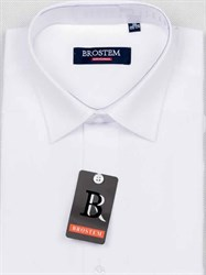Рубашка приталенная с коротким рукавом BROSTEM CVC2s**