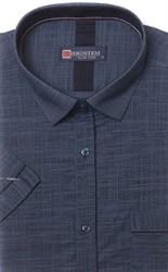 Мягкая летняя полуприталенная рубашка BROSTEM 1SBR090-4s*
