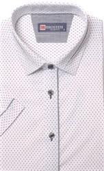 Хлопковая приталенная рубашка BROSTEM 1SBR085-2s**