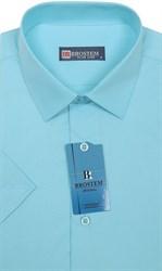 Модал с хлопком полуприталенная рубашка BROSTEM 4721s*