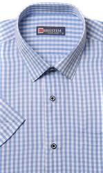 Полуприталенная рубашка с коротким рукавом BROSTEM 1SBR47-1s*