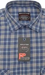 Фланелевая рубашка шерсть хлопок Brostem KA2441B
