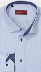 Рубашка приталенная VESTER 13914-01w-21