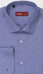 Рубашка приталенная VESTER 27914-14w-21